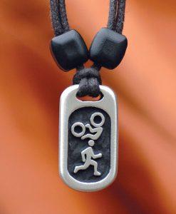 duathlete pendant