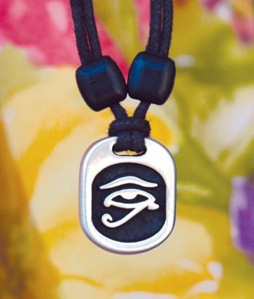 Metal Ice egyptian eye pendant