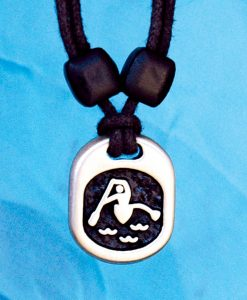 Metal Ice outrigger pendant