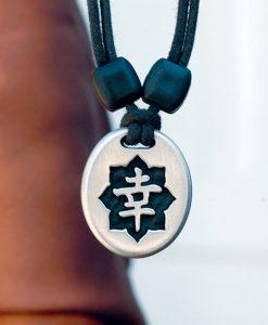 Metal Ice happiness pendant