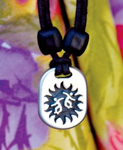 Metal Ice joy pendant