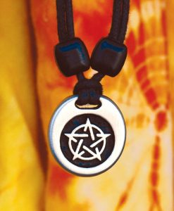Metal Ice pentacle pendant