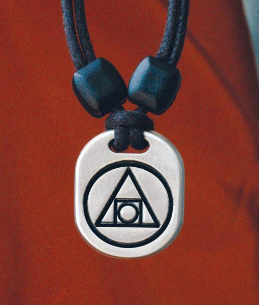 Metal Ice Alchemy pendant