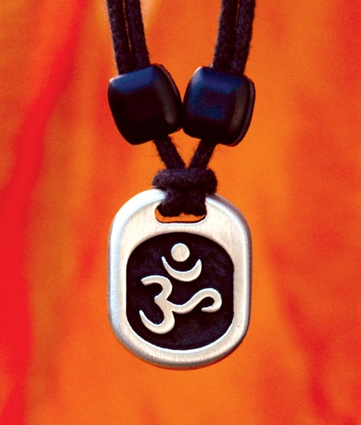 Metal Ice aum pendant