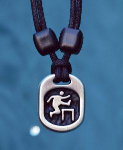 hurdler pendant
