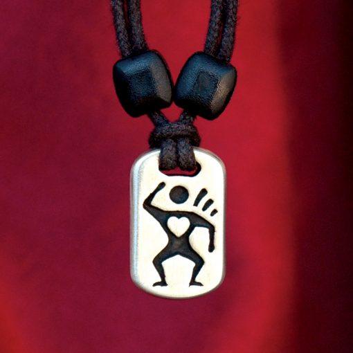 Metal Ice love pendant
