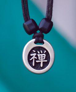 Metal Ice zen pendant