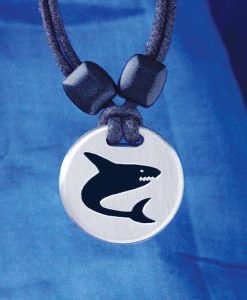 Shark Pewter Pendant