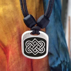 celtic love knot pendant