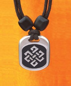 knot of longevity pendant