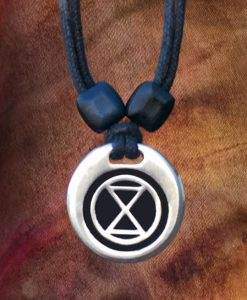 extinction rebellion pendant